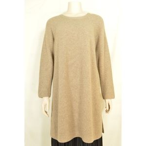 Eileen Fisher tunic M cashmere beige new